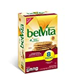 belVita Breakfast Biscuits, Cinnamon and Brown Sugar, 8 Count, 14.08 Ounce
