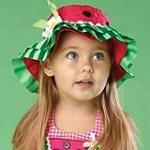 Baby Girls Spring Hats – Watermelon Hat – 176126
