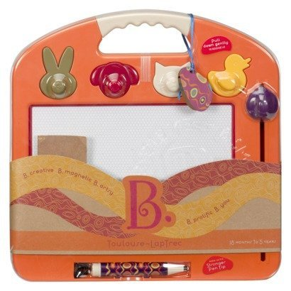 B. Toulouse Laptrec Magnetic Drawing Board - Tangerine Orange
