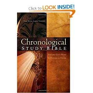 The Chronological Study Bible: New King James Version