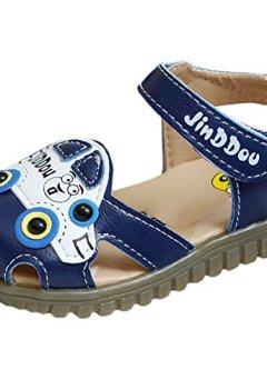 0886e061e0d92 Livres Couvertures de Scothen Chaussures de sandales en cuir pour bébé  tout-petits garçon nubuck