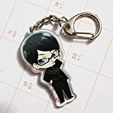 Anime Double-sided Design Acrylic KeyChain Key Ring Phone Charm Strap AK01B (B)