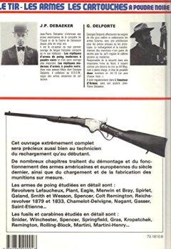 Livres Couvertures de Le Tir, Les armes, Les Cartouches, à poudre noire 1860-1900