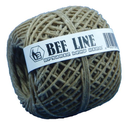 Bee Line Hemp Wick 200 FT Spool Thick Gauge