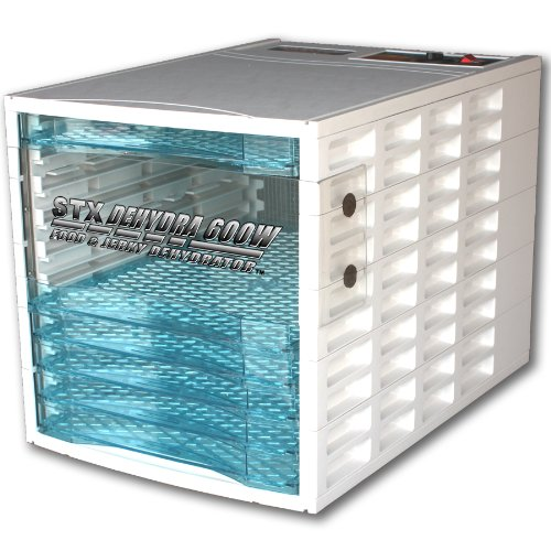 STX Dehydra DEH-004 600-Watt 10-Tray Jerky & Food Dehydrator