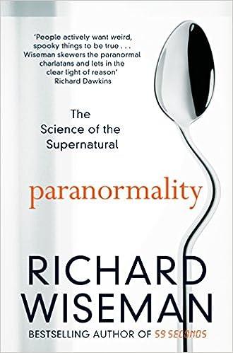 Paranormality - Richard Wiseman - Crédit : Pan books