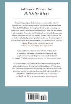 Livres Couvertures de Hillbilly Elegy: A Memoir of a Family and Culture in Crisis