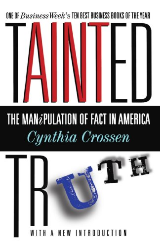 "Cover of ""Tainted Truth: The Manipulation..."