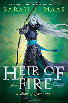 Heir of Fire (Throne of Glass) by Sarah J. Maas| wearewordnerds.com
