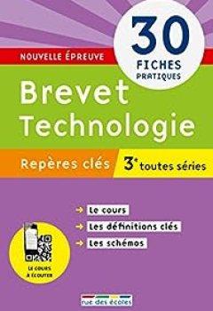 Livres Couvertures de Brevet Technologie 3e : Toutes Séries