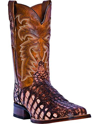 f2af7f91e3c Dan Post Men's Camel Everglades Caiman Cowboy Boot Square Toe Camel ...