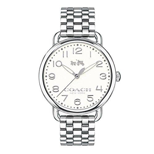 s delancey 36mm bracelet watch chalk/stainless steel watch,video review,coach women,(VIDEO Review) COACH Women's Delancey 36mm Bracelet Watch Chalk/Stainless Steel Watch,