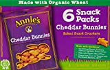 Annie's Homegrown Baked Crackers, Cheddar Bunnies, 6 Count