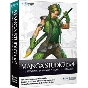 Manga Studio EX 4 (Win/Mac)