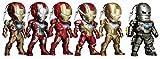 アイアンマン 3 Kids Nations Series 003 イヤホンジャック アクセサリー (ノンスケール PVC製トレーディングストラップ 6個入りボックス)