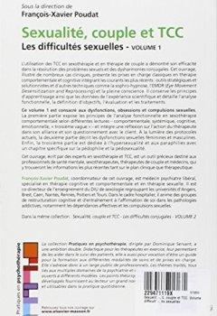 Livres Couvertures de Sexualité, couple et TCC. Volume 1 : les difficultés sexuelles
