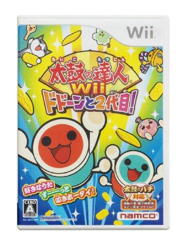 太鼓の達人Wii ドドーンと2代目! (ソフト単品版)