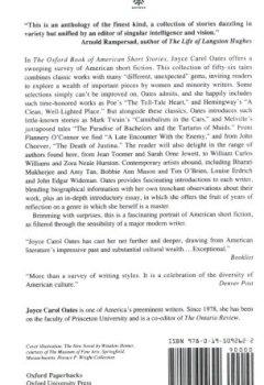 Livres Couvertures de The Oxford Book of American Short Stories
