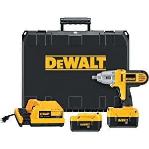 DEWALT DC800KL 36-Volt 1/2-inch Lithium Ion Cordless Impact Wrench Kit