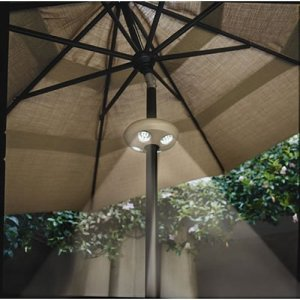 Swim Time 4-Light Rechargeable LED Umbrella Light