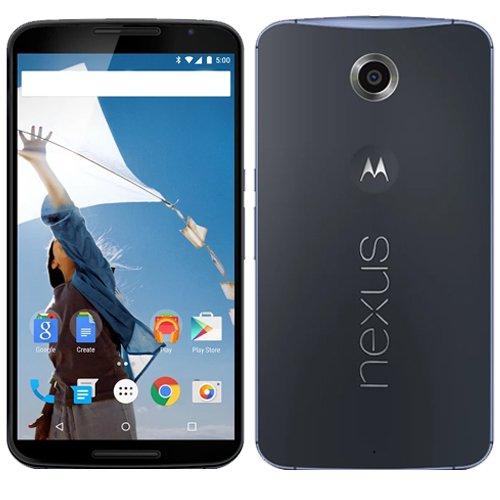 Google Nexus 6 グローバル版 XT1100 並行輸入品 32GB ダークブルー Dark Blue
