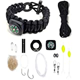 best paracord bracelet - Ultimate Paracord Survival Kit Bracelet by LAST MAN