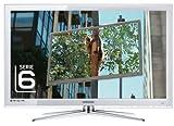 Samsung UE32C6710 81,3 cm (32 Zoll) LED-Backlight-Fernseher (Full-HD, 100Hz, DVB-T/-C/-S2) kristallweiß
