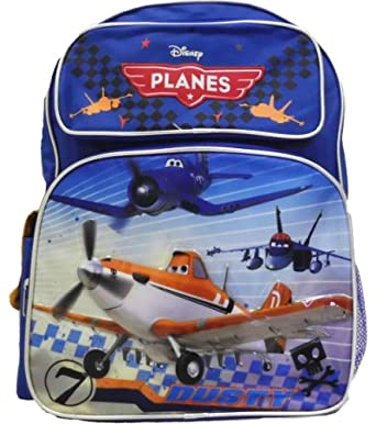 Planes Dusty Full Size Backpack, 16