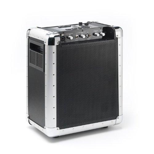 DJ Soundsystem Mobil Lautsprecher USB SD Lenco PA-80