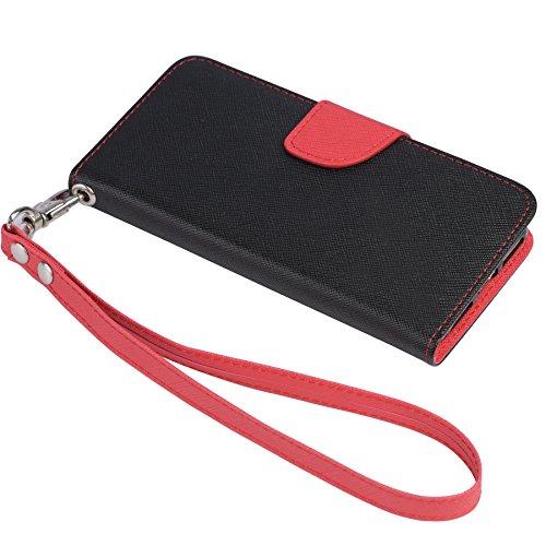 Jenny Desse iPhone 7 ケース 手帳型 カバー アイフォン7 ケース 手帳型カバー スタンド機能 カードホルダー ストラップ付き