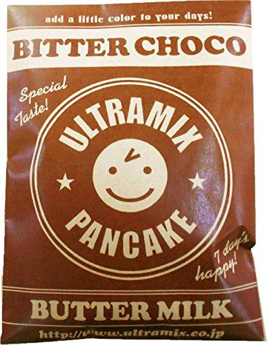 【まとめ買い】ウルトラミックス ビターチョコ北海道産バターミルクパンケーキミックス200g×3袋