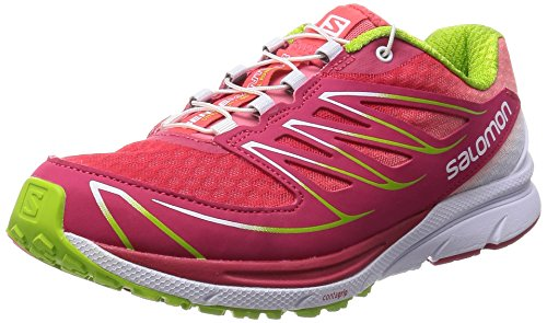 Salomon Sense Mantra 3, Damen Laufschuhe, Pink (Lotus Pink/White/Granny Green), 39 1/3 EU (6 UK)