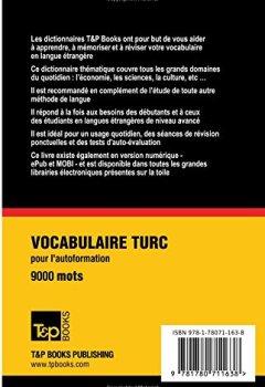 Telecharger Vocabulaire Francais Turc Pour L Autoformation