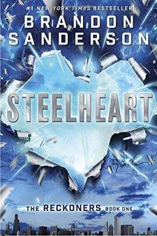 Steelheart (The Reckoners) by Brandon Sanderson| wearewordnerds.com