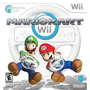 Mario Kart Wii with Wii Wheel