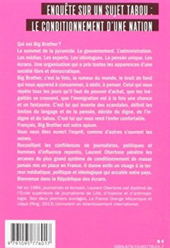 Livres Couvertures de La France Big Brother