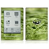Water Drop Design Protective Decal Skin Sticker for Sony Digital Reader Pocket PRS 600