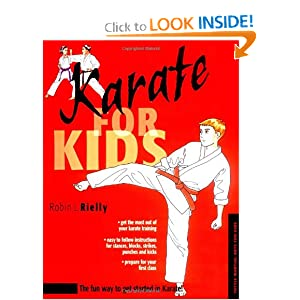 Kids Karate Training Book