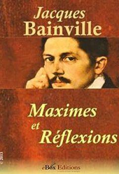 Livres Couvertures de Maximes Et Réflexions