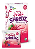 Plum Kids Organic Fruit Shredz, Berry'licious, 3.15 Ounce