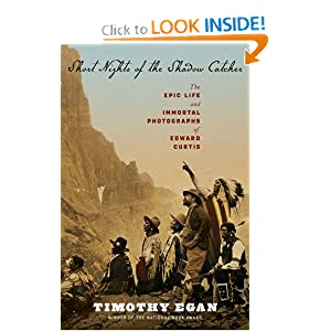 Timothy Egan on Edward Curtis at Amazon.com