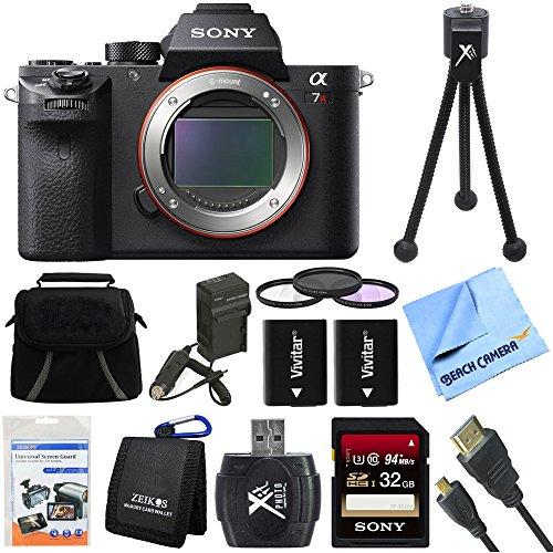 Sony a7R II Full-frame Mirrorless Interchangeable Lens 42.4MP Bundle