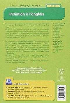 Livres Couvertures de Initiation à l'anglais (+ CD-Rom)