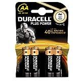 Duracell DUR017641 Plus Power AA Batterien (4er Pack)