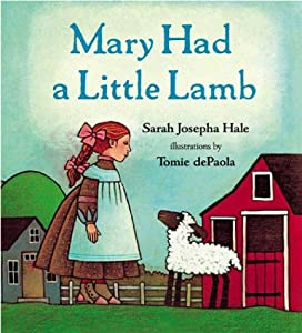 "Cover of ""Mary Had a Little Lamb"""