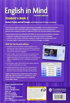 Livres Couvertures de English in Mind Level 3 Student's Book with DVD-ROM