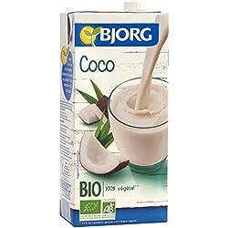 Bjorg Bebida de Coco - Paquete de 12 x 1000 ml - Total: 12000 ml