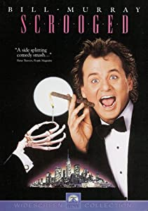 """Cover of """"Scrooged"""""""
