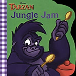 Tarzan Jungle Jam (Mouse Works Chunky Roly-Poly Book)