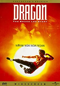 "Cover of ""Dragon: The Bruce Lee Story"""